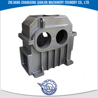 China manufacture Grey iron & ductile iron cast ship D800 water pump casting body