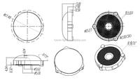 optical pmma lens 93% transmittance LIGHTING ADVERTISEMENT BOX LED TV LENS 3030 TV and MONITOR LENS
