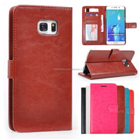 For Galaxy S6 Edge Plus Leather Case, Business Style PU Leather case for Samsung