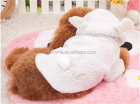 Heated pet clothes couture dog clothes sheep pattern cute in china by factory price