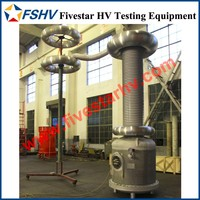 SF6 Gas Insulation HV AC Test Transformer fo High Voltage Hipot Test