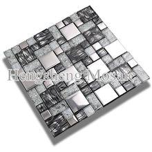 AE31 Mosaico de vidrio protector contra salpicaduras Silk plástico palillo de mezcla Matel Plating Mosaico