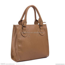 Special new coming lady leather tote bags