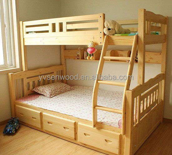 Picture Of Double Deck Bed | Wooden Bed Modern Kids Double Deck Bed Buy Kids Double Deck Bed