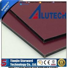 Good quality dark rose 3mm 0.21mm premium sheet materials