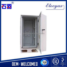 "Top quality SHIYU Telecom equipment outdoor cabinet/Stainless steel equipment storage enclosure with 19"" rack"