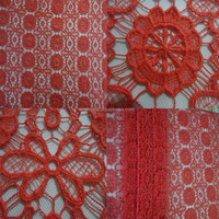 YJC6507-1 2014 latest chemical African velvet lace fabric