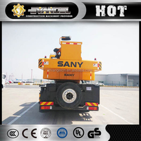 second hand sany stc500 50t truck crane 50t used condition sany stc500 50t year 2015 mobile crane with hydraulic engine