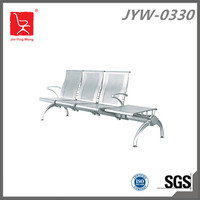 3-seater bus station waiting chair with flat table JYW-0330