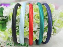 10mm Headbands Satin Wrapped Plain Plastic Hair band Headband