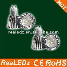 3x1W Common model but still popular MR16 GU10 LED Spotlight