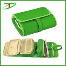 2015 Wholesale foldable makeup organizer, folding cosmetic pouch