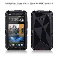 Promotional Mobile Phone Accessory Gorilla Glass Waterproof Case for HTC One M7