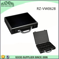 TopGrade 18 Timepieces Briefcase Design Aluminum Men Watch Box