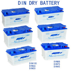 Din Dry Car Battery Series DIN 44 DIN 55 DIN 66 DIN 75 DIN 88 DIN100