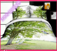4 pcs 3D Printed Bedding set, Duvet Cover Comforter Bed Linen Set