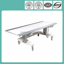 dr table with horizontal and lifting movement function
