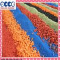 El vario color de caucho epdm gránulo/miga de goma/pistas de goma para la pista de atletismo& zona juegos- fl- g- v- 163