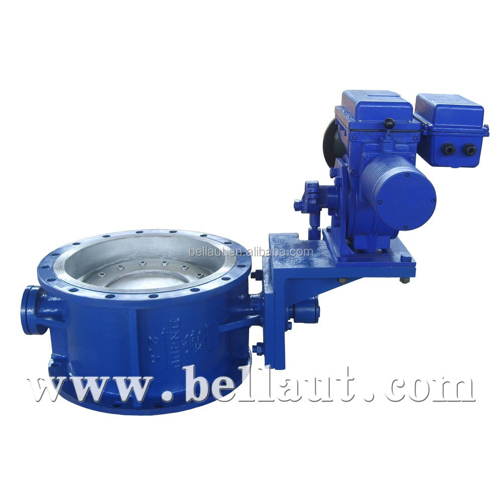 Electric Motorized Control Butterfly Valve View