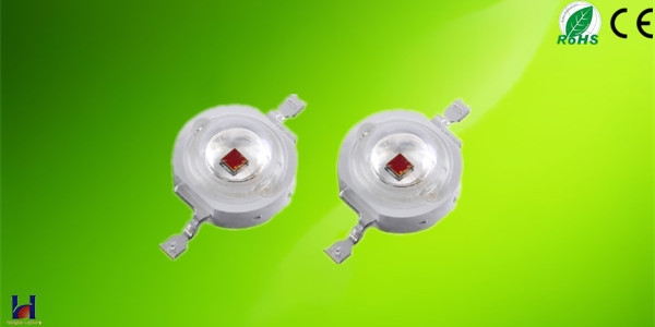 1w red high power led