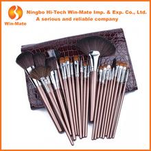 China supplier Makeup kit with all brush items, 22 pcs makeup brush set