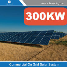 Easy installation 300kw solar system ground include off grid solar pv modules also with Solar Inverters