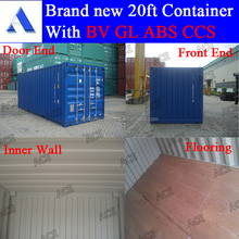 container price for 20 foot dry shipping container