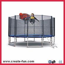 CreateFun best selling 12ft kids jumping trampoline, kids jumping bed, bungee jumping trampoline