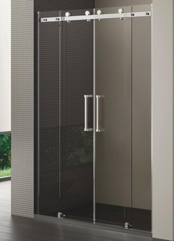 Frameless Tempered Glass Shower Cubicles Enclosure Removable Sri ...