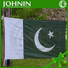 wholesale 3x5 OEM 100% polyester customized pakistan national flag