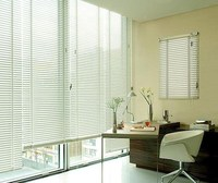 faux wood blinds Outdoor