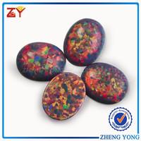 8*10mm Oval Shape Fire Opal for Jewelry