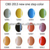 CBD 2013 Fashion Color One Step Gel Polish Nail Art UV Gel