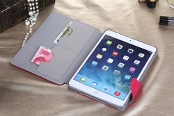 Big discount !! new products PU Leather Flip Cover Case For iPad mini