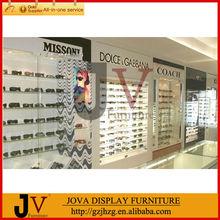 de gama alta de tienda de óptica de muebles para la decoración de la tienda
