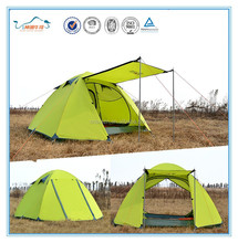 2015 New Products double layers Camping tent outdoor tent for 3-4 person