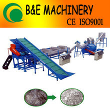 wash water recycling plastic recycling line