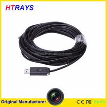 USB video Inspection 6 LED Borescope Endoscope 5.5mm waterproof camera snake scope