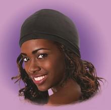 Durag Ultra Stretch custom shower cap material stretch wig caps Spandex dome Cap