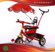 2012 Newest Baby Unbrella Tricycle With Push Handle SM-64