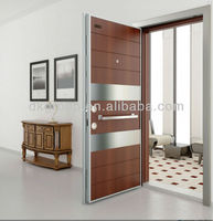 New Design Turkish Style Steel Wood Armored doors