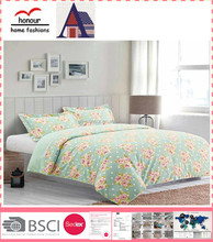 High quality new design home Use flower printing quilted quilt