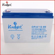 NEW PRODUCTS!!! 12v 80Ah tubular gel battery OPzV battery