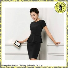 Office uniforms for ladies/elegant skirt suits for office ladies