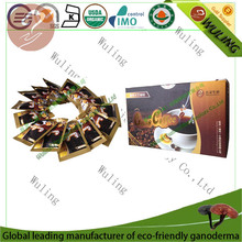 ganoderma cafe with sugar