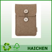 Diy Design High Quality fashion soft fashion felt mobile phone cover/case