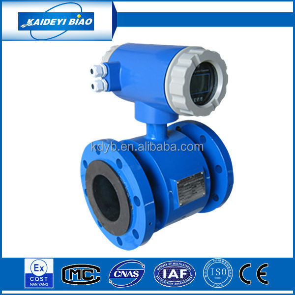electromagnetic type water flow sensor