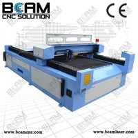 260w laser tube CO2 rubber sheet laser cutting machine BCJ2513