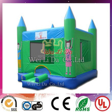 inflatable jumping castle inflatable green mini bouncer