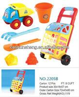 Aluminum Beach Cart Toy Kids Garden Tools, 2013 Summer Toys For Children